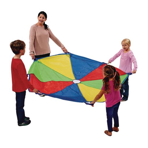 Image of Excellerations Brawny Tough Rainbow Parachute - 6'Dia.