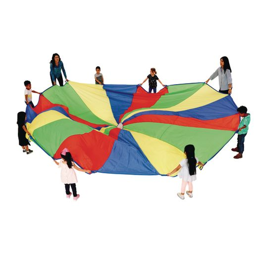 Image of Excellerations Brawny Tough Rainbow Parachute - 20'Dia.