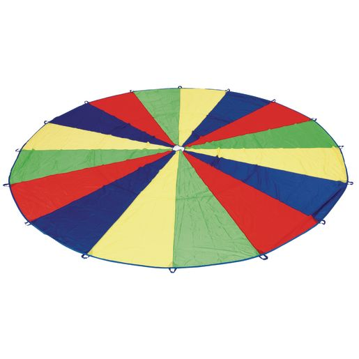 Excellerations® Brawny Tough Rainbow Parachute - 20'Dia.