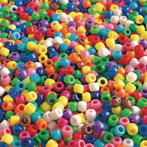 Image of Colorations Pony Beads - 1 lb.