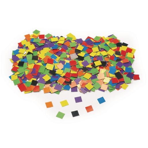 Image of 10,000 Cardstock Mosaic Squares