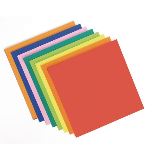 Origami Paper, Assorted Colors - 40 Sheets