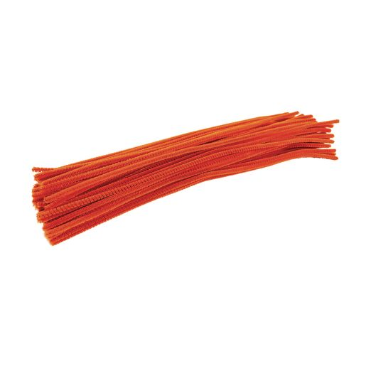 Colorations® Pipe Cleaners, Orange - Pack of 100