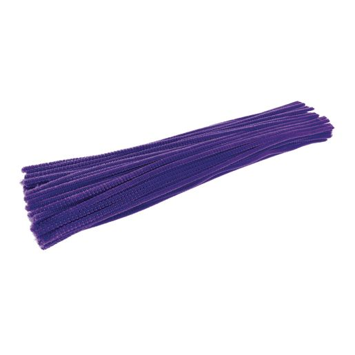 Colorations® Pipe Cleaners, Violet - Pack of 100
