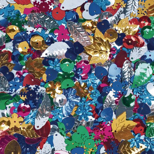 Colorations® Sequins & Spangles - 4 oz._0