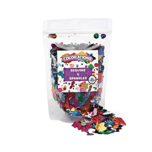 Colorations® Sequins & Spangles - 4 oz._1