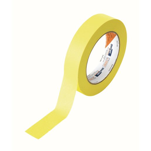 "Yellow Masking Tape, 1""W x 60 yds."