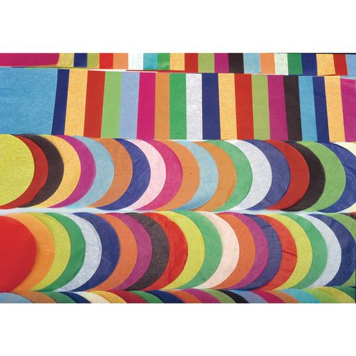 "Colorations® Tissue Paper Circles, 4"" - 480 Pieces"