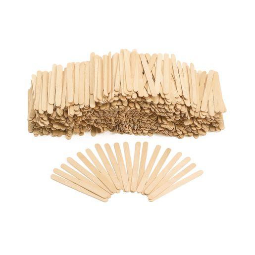 Natural Wood Craft Sticks - 1,000 Pieces