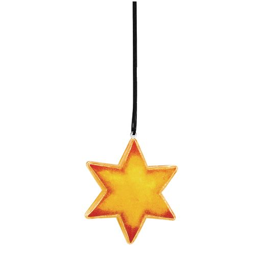 Image of Colorations Clear Star Ornaments - Set of 12