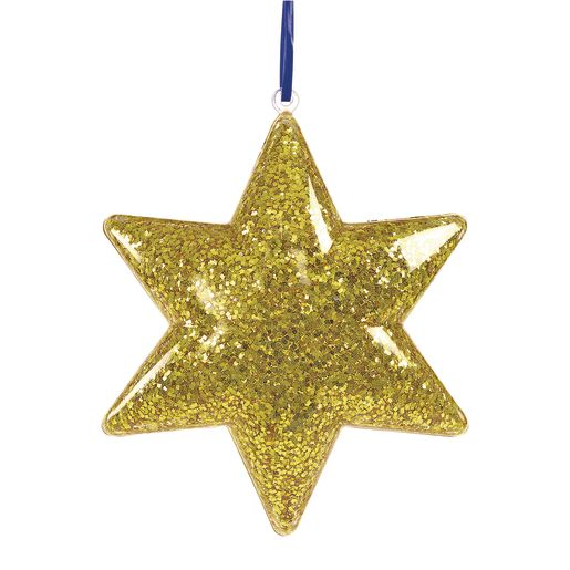 Colorations® Clear Star Ornaments - Set of 12