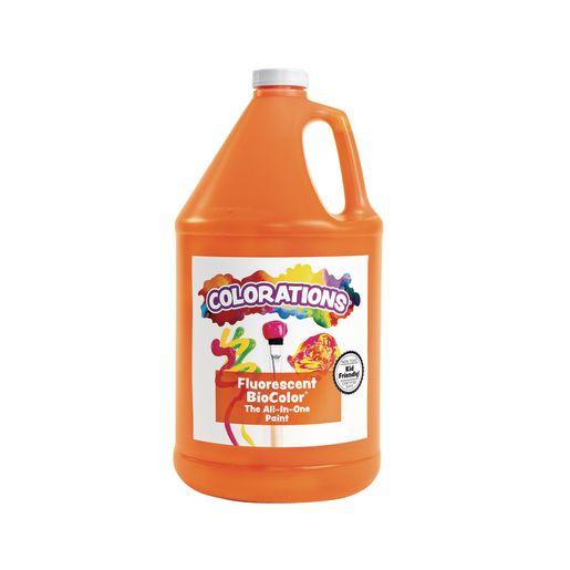 Image of BioColor Paint, Fluorescent Orange - 1 Gallon
