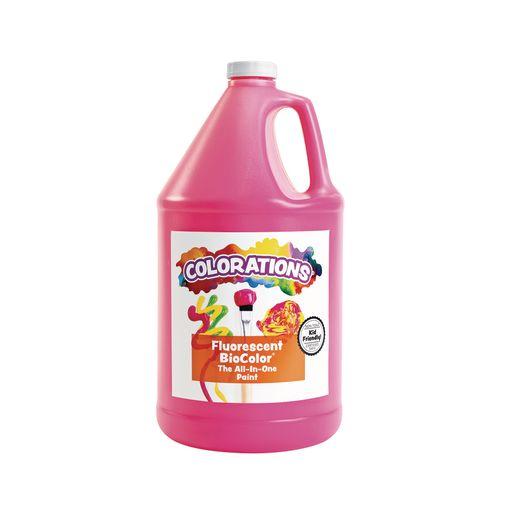 Image of BioColor Paint, Fluorescent Pink - 1 Gallon