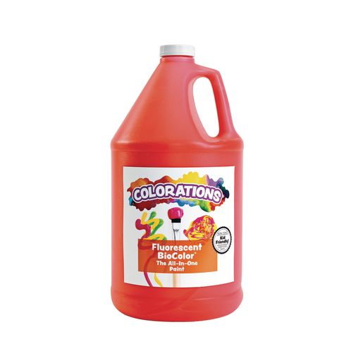 Image of BioColor Paint, Fluorescent Red - 1 Gallon