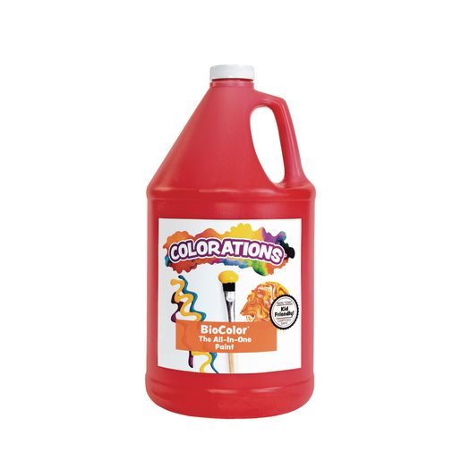 BioColor® Paint, Red - 1 Gallon