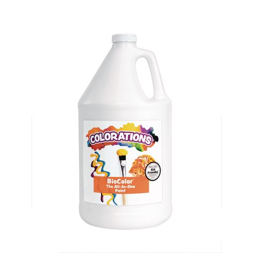 BioColor® Paint, White - 1 Gallon