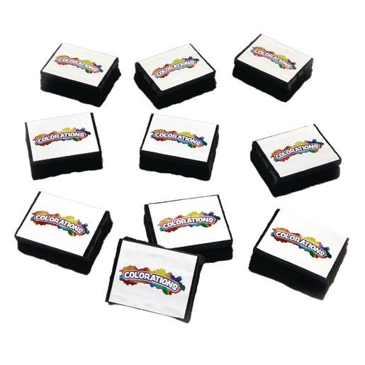 Colorations® Chunky Mini Erasers - Set of 10