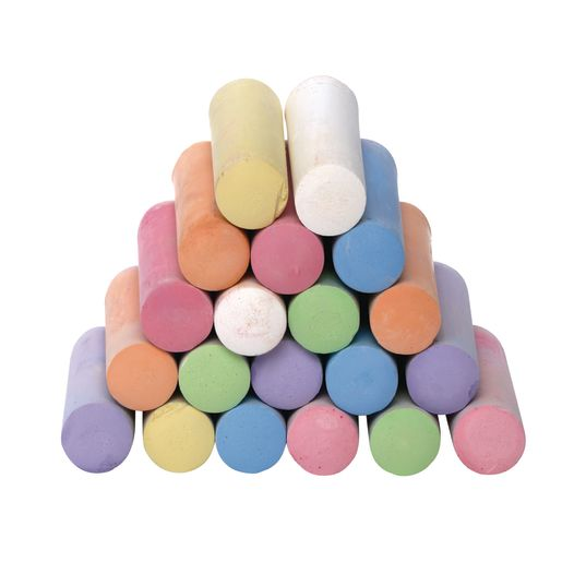 Colorations® Washable Sidewalk Chalk - 20 Pieces_1