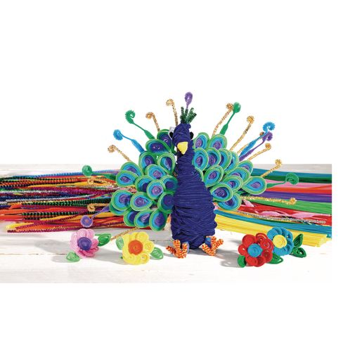 Colorations® Pipe Cleaners, Green - Pack of 100