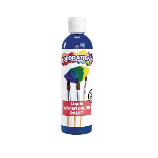 Colorations® Liquid Watercolor™ Paint, Blue - 8 oz.