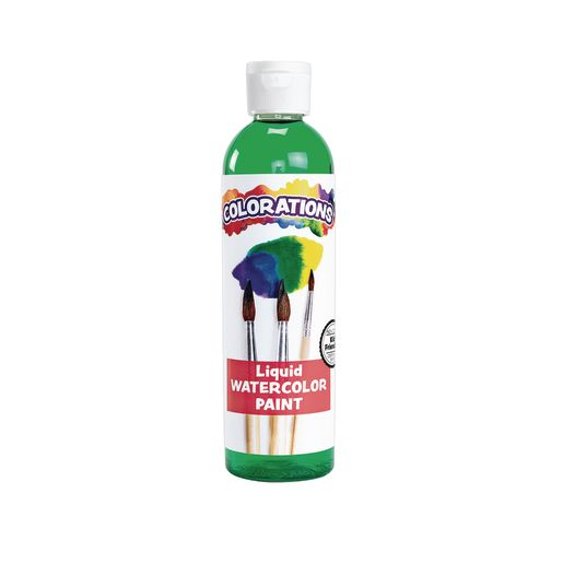 Colorations® Liquid Watercolor™ Paint, Green - 8 oz.