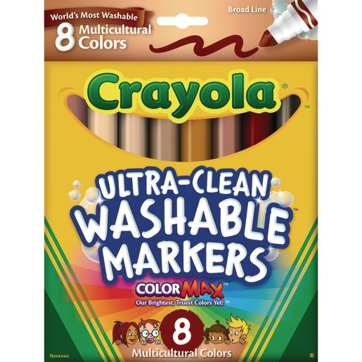 Crayola® Multicultural Ultra-Clean Washable® Markers