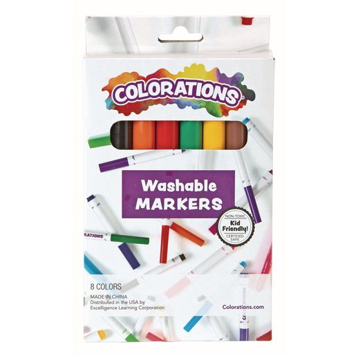 Colorations® Washable Classic Markers, Set of 8_0