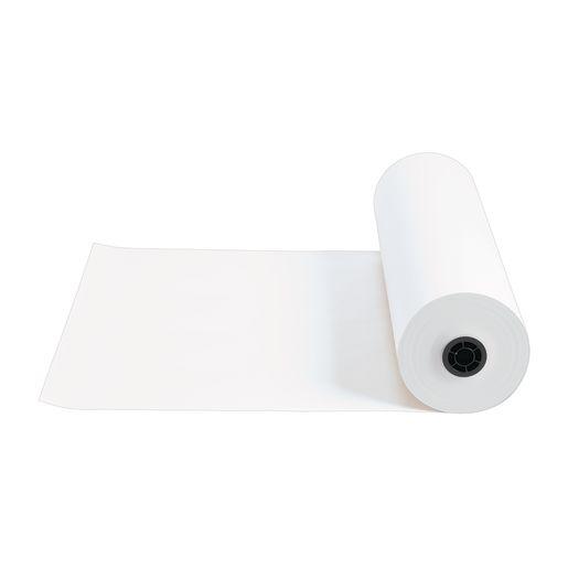 "24"" x 1000' White 40 lb. Butcher Paper Roll"