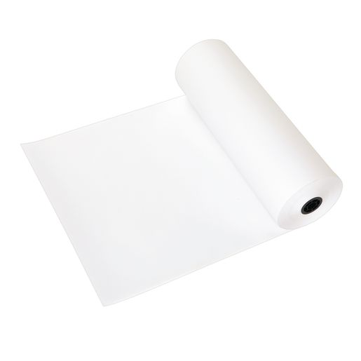 "18"" White 50 lb. Butcher Paper Roll"