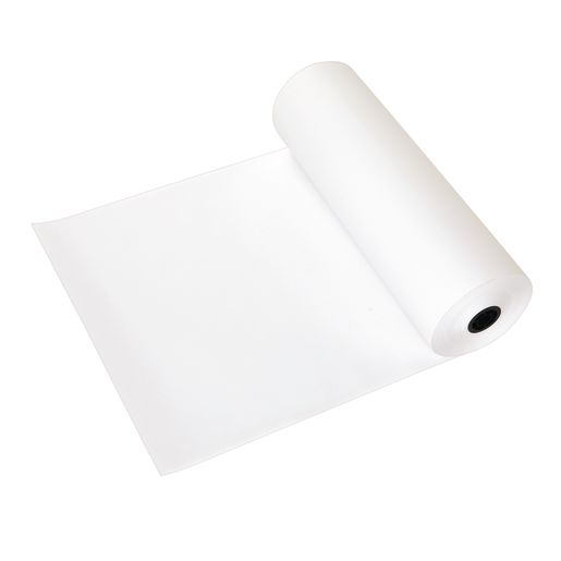 Image of 24 x 1000' White 50 lb. Butcher Paper Roll