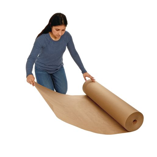 "36"" Tan 40 lb. Butcher Paper Roll"
