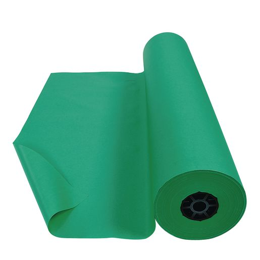 Image of Colorations Dual Surface Paper Roll, Bright Green, 36 x 1000'
