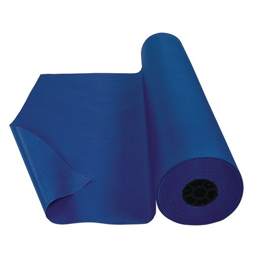 Image of Colorations Dual Surface Paper Roll, Dark Blue , 36 x 1000'
