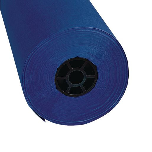 "Colorations® Dual Surface Paper Roll, Dark Blue , 36"" x 1000'"