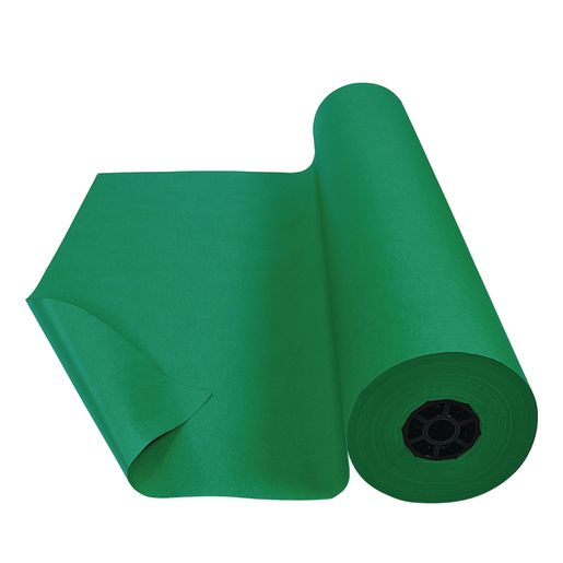 "Colorations® Dual Surface Paper Roll, Holiday Green, 36"" x 1000'"