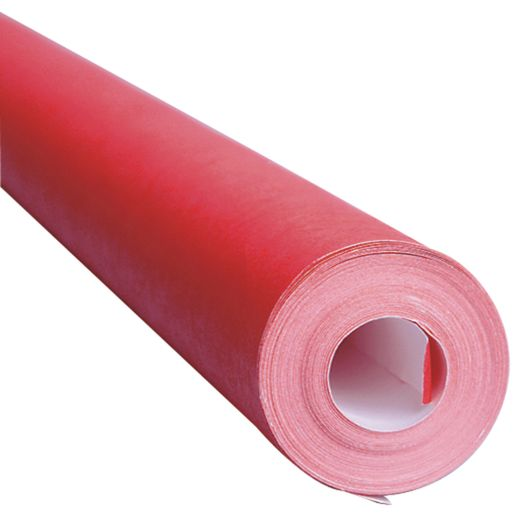 "Flame Red Fadeless® Paper Roll, 48""W x 50'L"