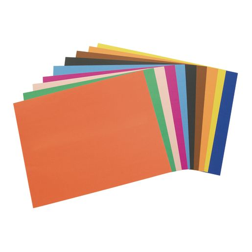 Image of Assorted Colors Poster Board, 22 x 28 - Pack of 100
