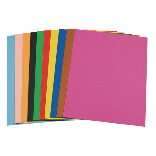 "Assorted Colors Poster Board, 22"" x 28"" - Pack of 100"