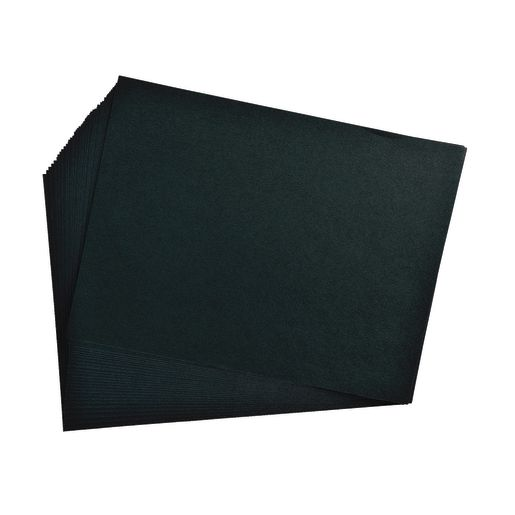 Image of Black 9  x 12 Heavyweight Construction Paper Pack - 50 Sheets