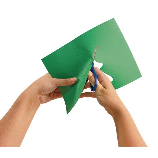 "Holiday Green 9"" x 12"" Heavyweight Construction Paper Pack - 50 Sheets"
