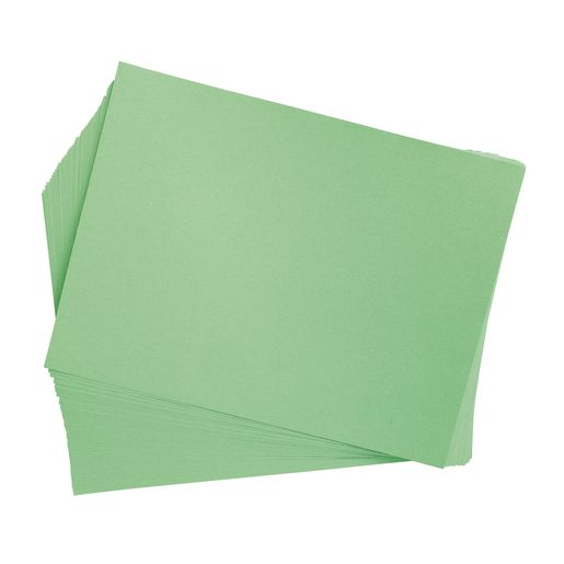 "Light Green 9"" x 12"" Heavyweight Construction Paper Pack - 50 Sheets"
