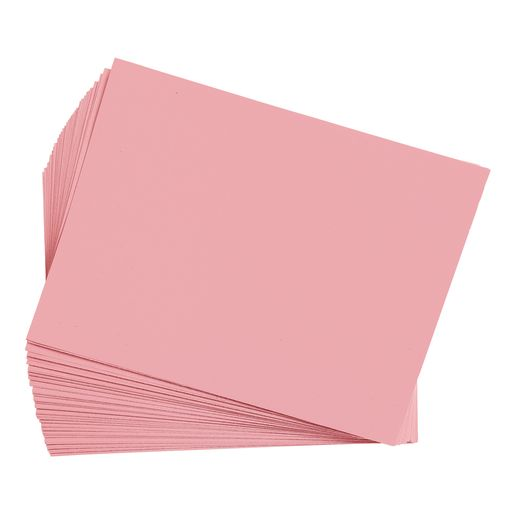 "Pink 12"" x 18"" Heavyweight Construction Paper"