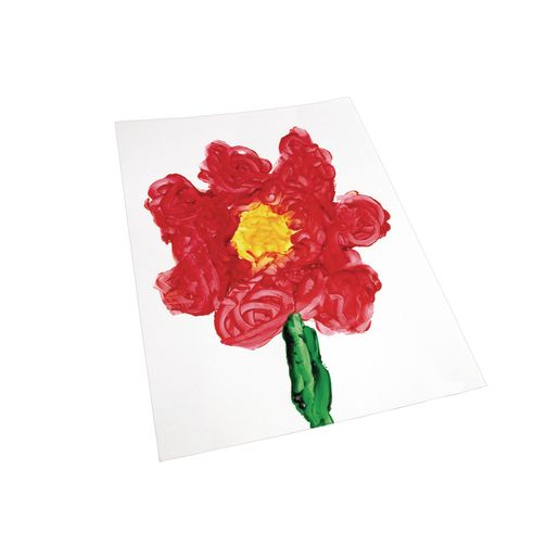 "16"" x 22"" Glossy Finger Paint Paper - 100 Sheets_1"