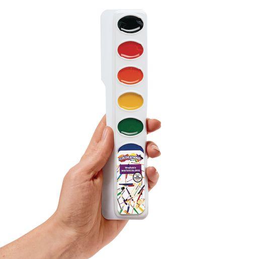 Colorations® Regular Best Value Watercolor Single Refill, 8 Colors