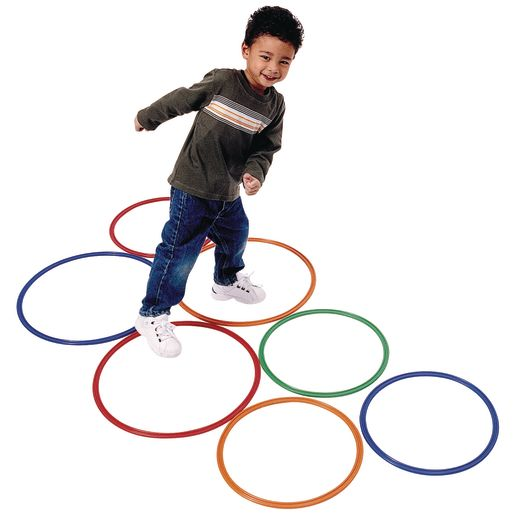 Image of 14 Brawny Tough Activity Hoops - Set of 10