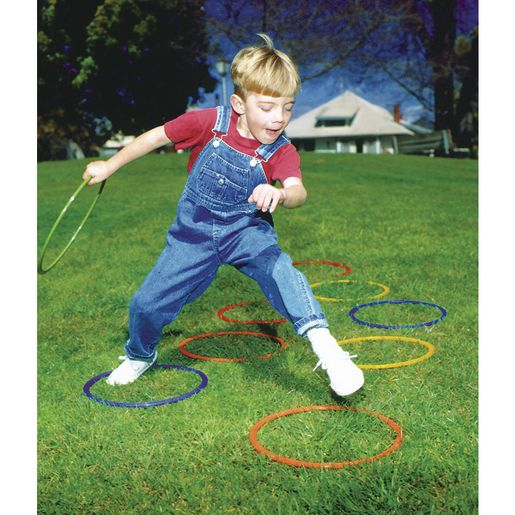 "25"" Brawny Tough Activity Hoops - Set of 5"