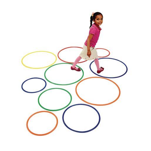 Image of Brawny Tough Activity Hoops - Set of 15
