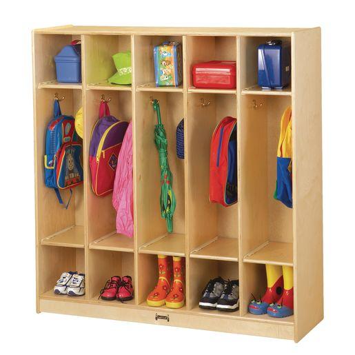 5-Section Locker