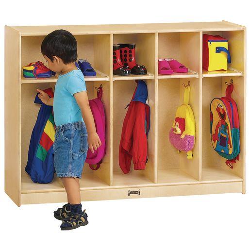 5-Section Toddler Locker - Assembled