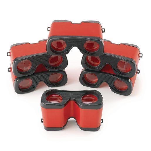 Set of 6 Mini Binoculars